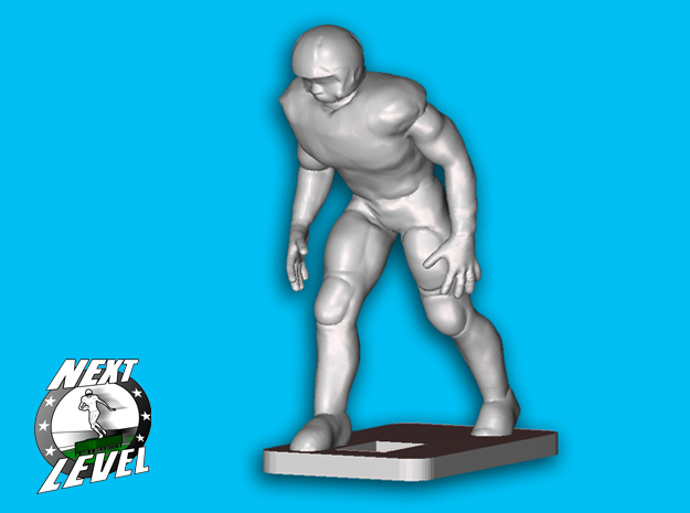 Left Side OLB / Tight - End (2.3g) in Smooth Fine Detail Plastic