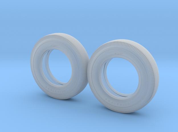 1/16 Firestone 890-18 Tires, REAR in Frosted Ultra Detail