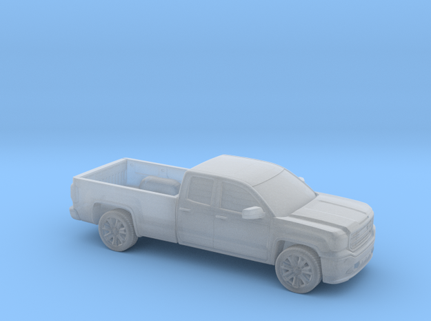 1/160  2013-17 GMC Sierra Ext.Cab Long Bed in Smooth Fine Detail Plastic