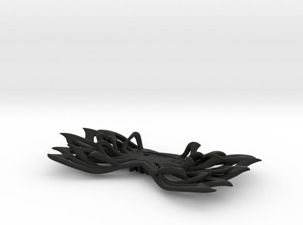 Bow tie part 1 base. ACB in Black Natural Versatile Plastic