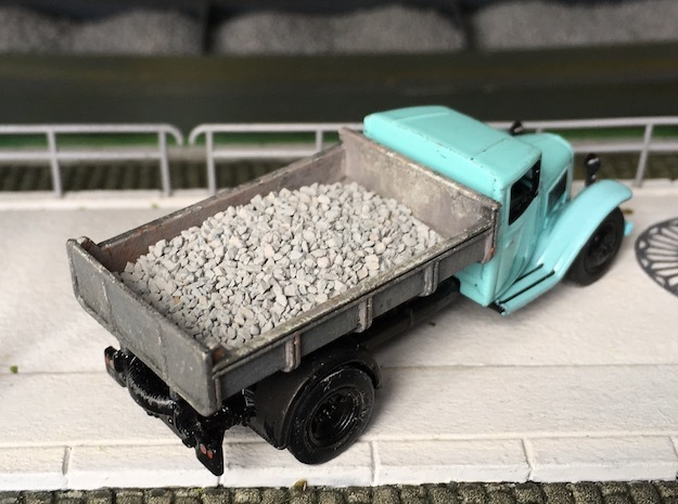 Dump for Citroën Type 23 - HO 1/87 in Smoothest Fine Detail Plastic