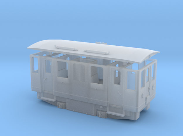 AD1 diesel railcar / Automotrice diesel AD1 in Smooth Fine Detail Plastic