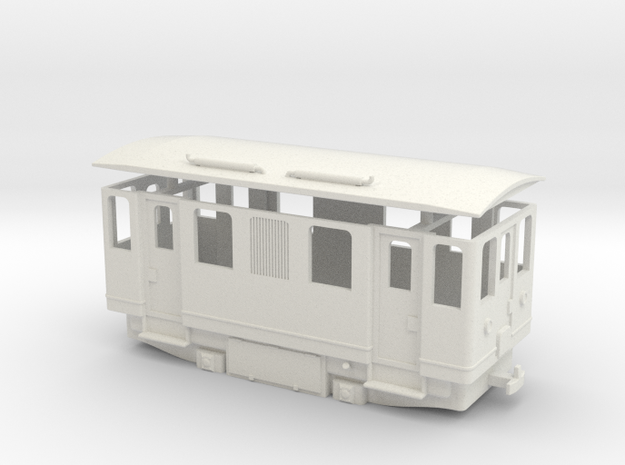 AD1s simplified diesel railcar / Automotrice sempl in White Strong & Flexible
