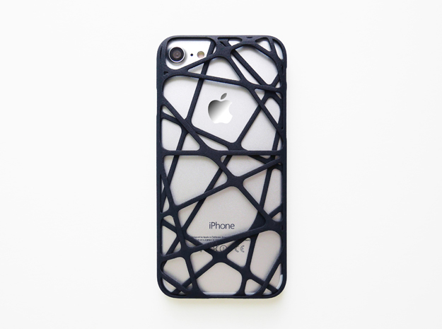 iPhone 7 & 8 Case_Cross in Black Natural Versatile Plastic