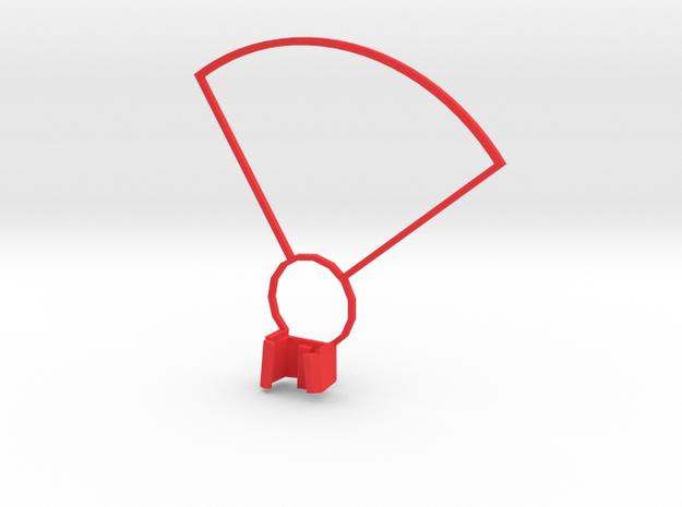 DJI SPARK Propeller Guard Left 0,1g in Red Processed Versatile Plastic