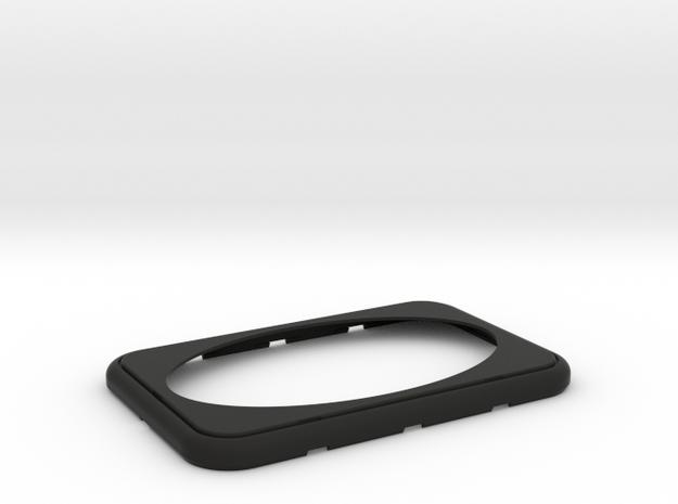 PORSCHE - Loudspeaker frame 3.2 in Black Natural Versatile Plastic