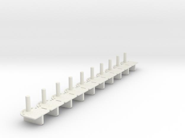 Guide_P43_10_3mm in White Natural Versatile Plastic