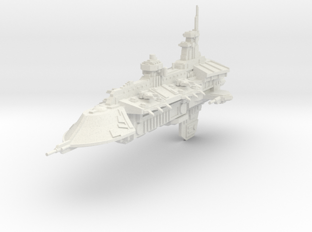 Gran Crucero clase Venganza in White Natural Versatile Plastic
