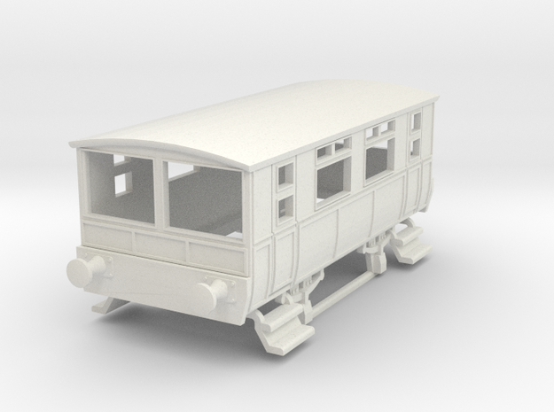 o-100-wcpr-drewry-sm-railcar-trailer-1 in White Natural Versatile Plastic