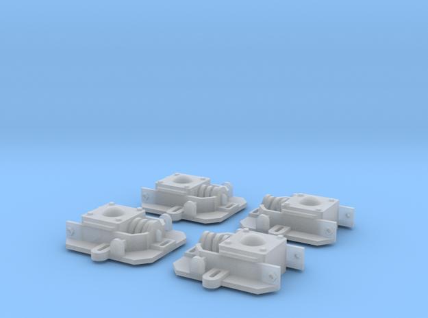 Diema DL8_Achslager, 1:13,3 in Smooth Fine Detail Plastic