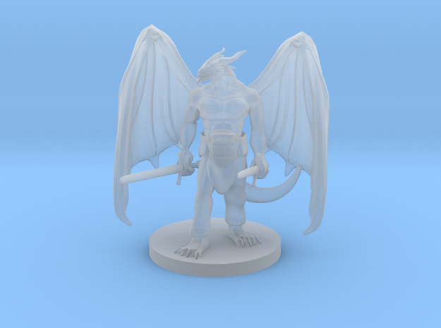 Dragonborn Two  Weapon Fighter with Wings