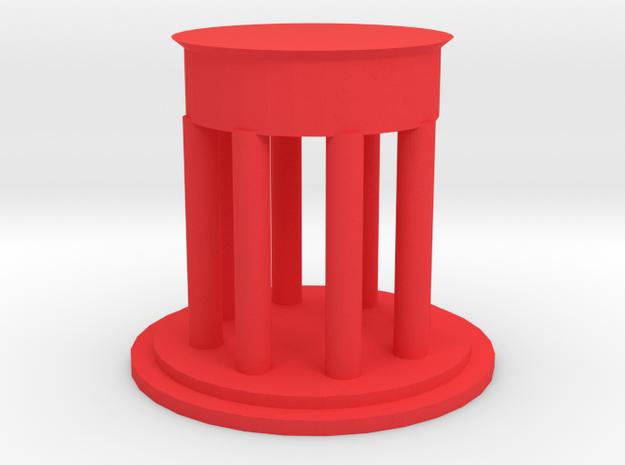 "2"" Custom Graduation Gift for SMU Dedman Law in Red Processed Versatile Plastic"