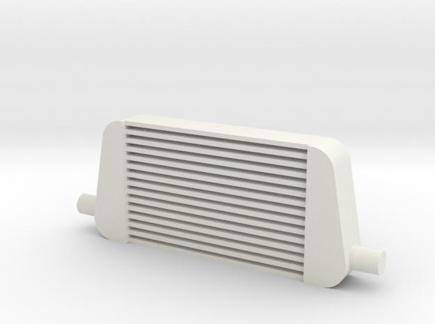 1/10 Scale (1:10) Intercooler in White Natural Versatile Plastic