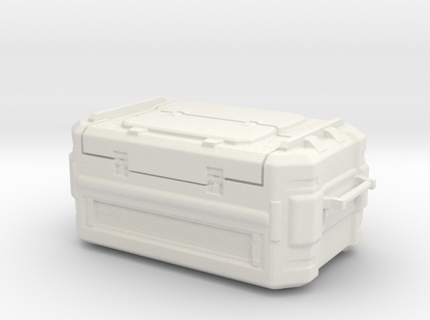 SciFi Cargo container in White Natural Versatile Plastic
