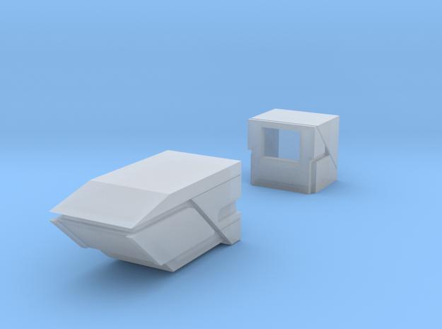 Robot V Laser Mod in Smooth Fine Detail Plastic