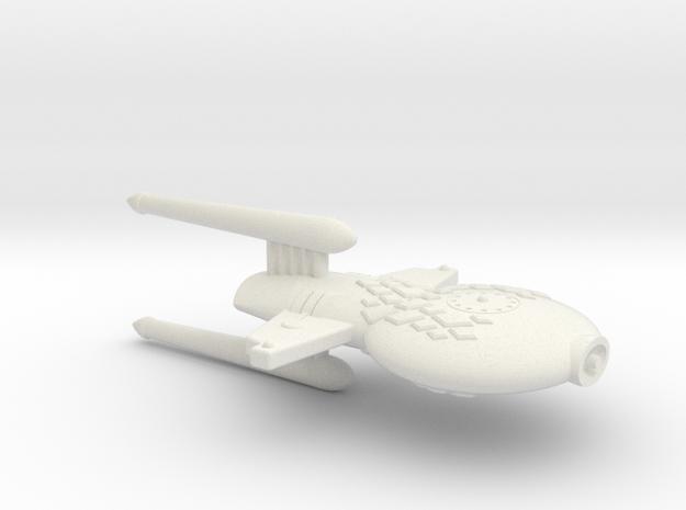 3788 Scale Gorn Compsognathus+ Frigate (FF) SRZ in White Natural Versatile Plastic