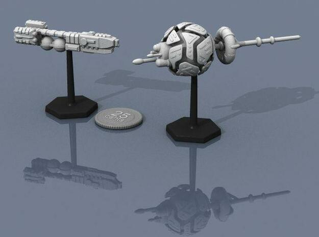 Alien Artifact 2 3d printed Artifact 2 and Frontier Explorer