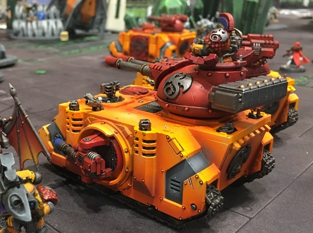 Battle Tank: Phobos - Full Kit (Laser Cannons)