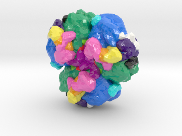 Photosystem I (Large) in Glossy Full Color Sandstone