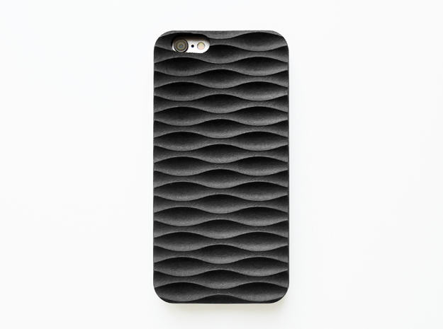 iPhone 6S Case_Seamless in Black Strong & Flexible