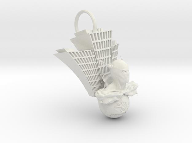 Hero and Swertia japonica in White Natural Versatile Plastic