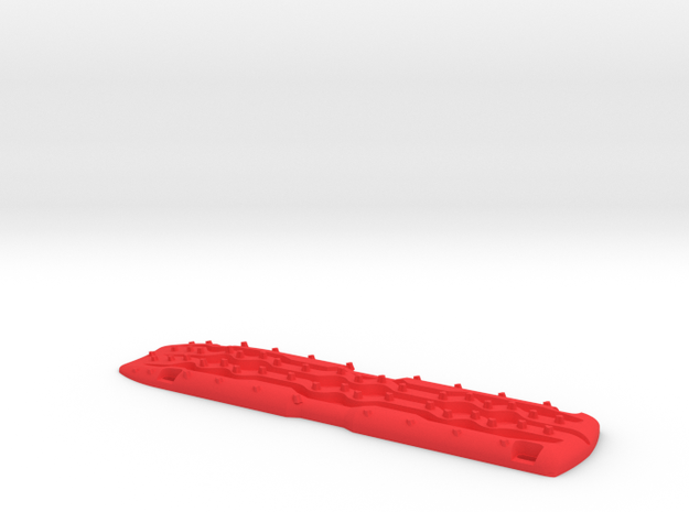 1/10 Scale Recovery Sand Ramp Large in Red Processed Versatile Plastic