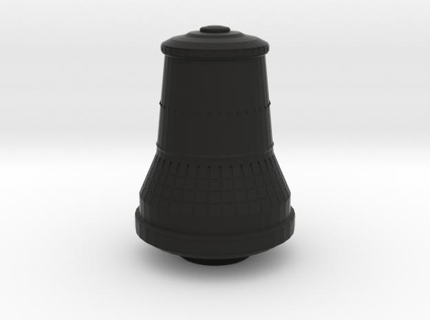 Die Glocke / The Bell in Black Natural Versatile Plastic: 6mm