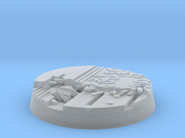 24mm blown out car base in Smooth Fine Detail Plastic