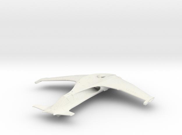 SA-43 Hammerhead in White Natural Versatile Plastic