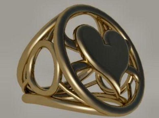 Size 18 0 mm LFC Hearts 3d printed
