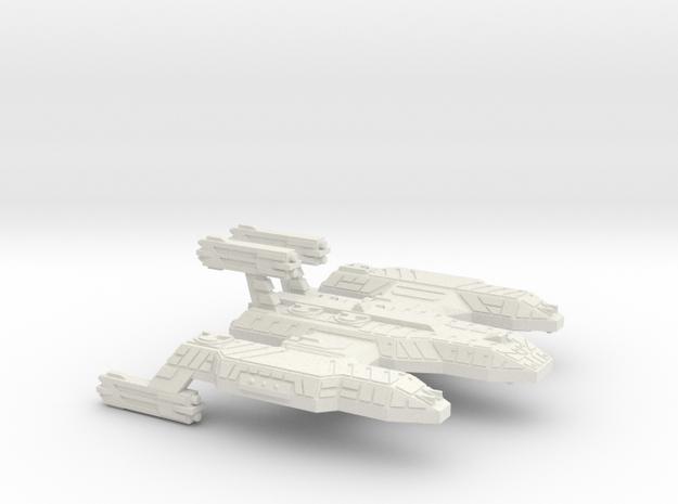 3788 Scale Lyran Cave Lion Battleship (BB) CVN in White Natural Versatile Plastic