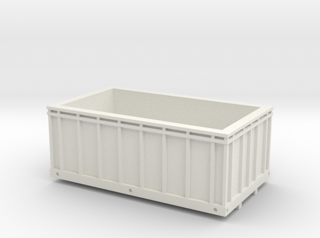 grain truck box 1/64 in White Natural Versatile Plastic