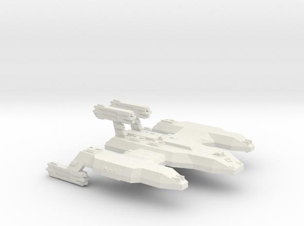 3125Scale LDR Cave Lion Battleship (BB) CVN in White Strong & Flexible