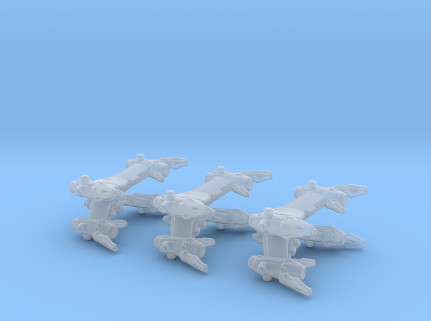 Earth Alliance StarFury 3-pack in Smooth Fine Detail Plastic