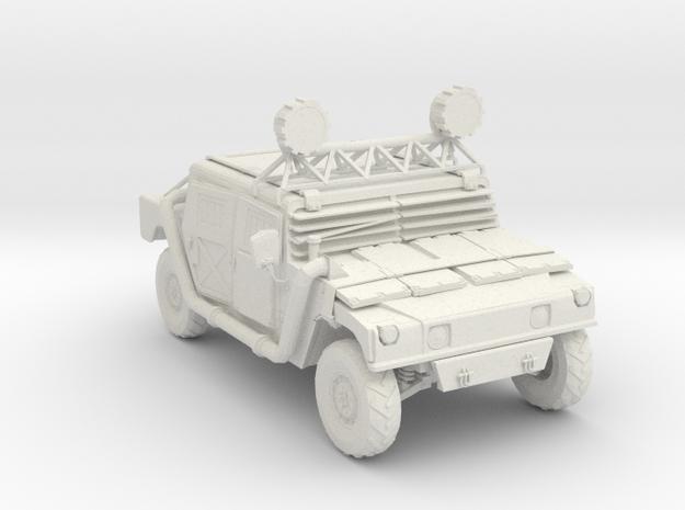 Wasteland Hummer - Variation A  in White Natural Versatile Plastic