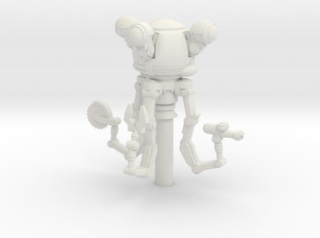 Butler Bot in White Natural Versatile Plastic