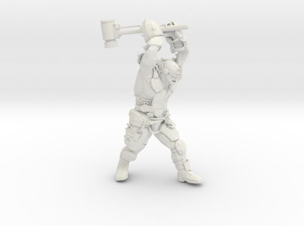 Mutant Brute with super sledge in White Natural Versatile Plastic