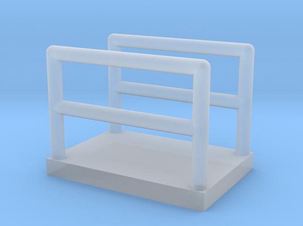 N Scale Walkway 10mm in Smooth Fine Detail Plastic