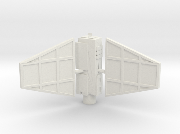 Derelict-Beacon Gravity Well Turret  in White Strong & Flexible