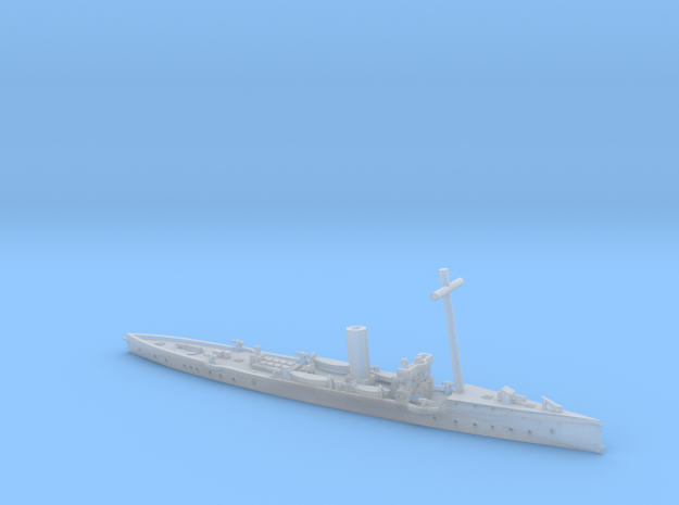 SMS Satellit 1/1200 EV(with mast) in Smooth Fine Detail Plastic