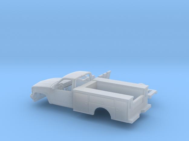 1/87 1990-98 Chevrolet Silverado Reg Cab Utillity  in Smooth Fine Detail Plastic