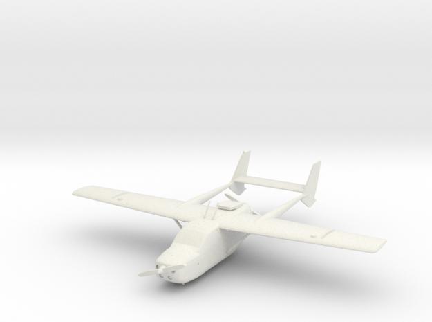 Cessna 337 Skymaster in White Strong & Flexible