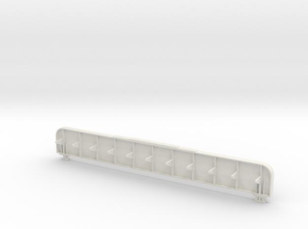 Langträger mit Steg u Nieten im Maßstab 1 : 45 (Sp in White Natural Versatile Plastic