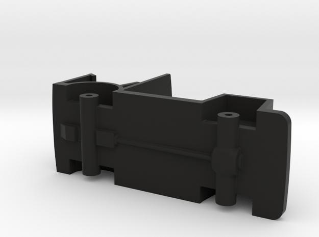 DAF A10 politiebus, bodemplaat, schaal 1:87 in Black Natural Versatile Plastic