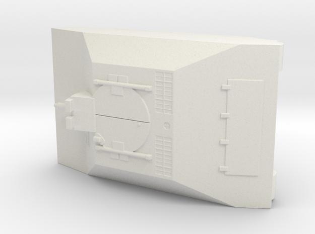 Leichter Pz Kpfw mit 5,5cm MK 112 1/72 in White Natural Versatile Plastic