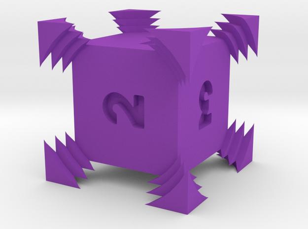 Sonic D6 in Purple Processed Versatile Plastic