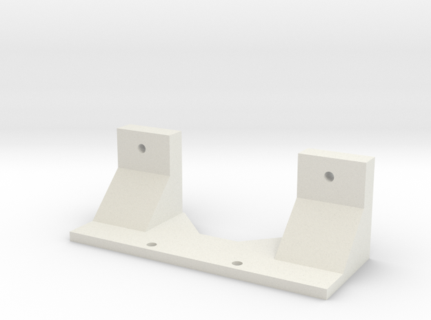 mojave drift rear body mount in White Natural Versatile Plastic