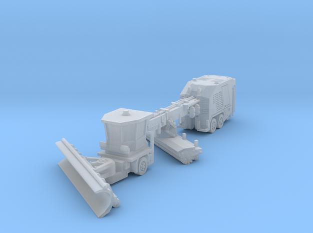 Vammas PSB5500 snow plow in Smoothest Fine Detail Plastic: 1:400