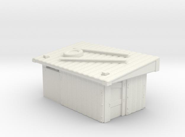 Tin Slum 2 in White Natural Versatile Plastic