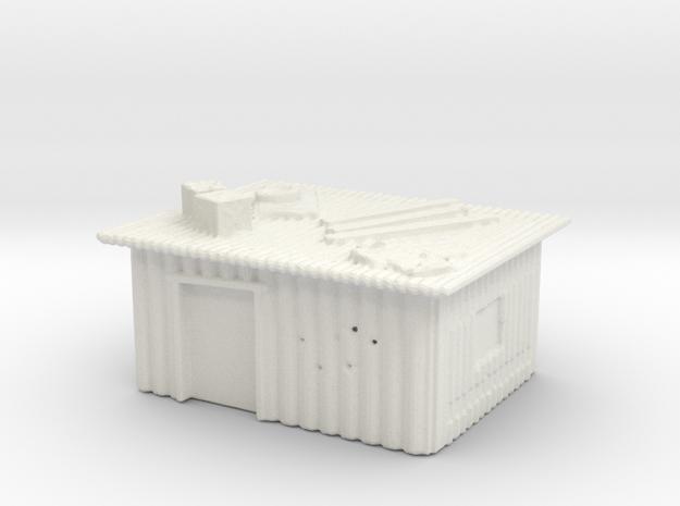 Tin slum 3  in White Natural Versatile Plastic
